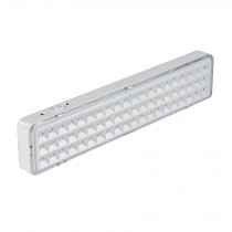 Lámpara de emergencia recargable 300 lm, 60 LED