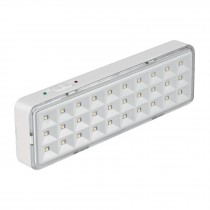 Lámpara de emergencia recargable 220 lm, 30 LED